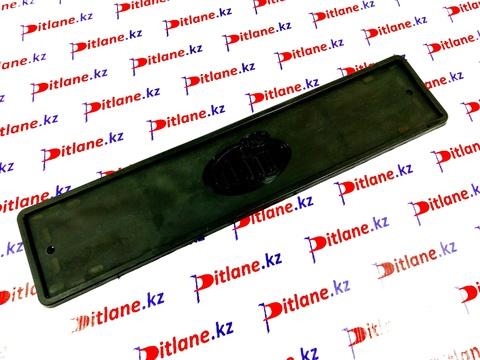 Рамка номерного знака силиконовая черная (1 шт)