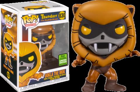 Фигурка Funko Pop! Animation: Thundarr the Barbarian - Ookla the Mok (Excl. to Emerald City Comic Con 2021)