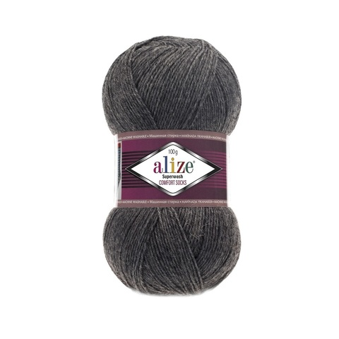 Пряжа Alize SuperWash Comfort Socks цвет 0182