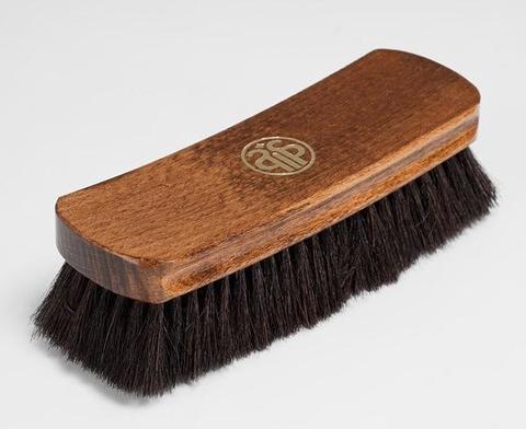 Щетка для гладкой кожи, натуральный ворс,12630/12631 Salrus (Салрус) 20,5см.