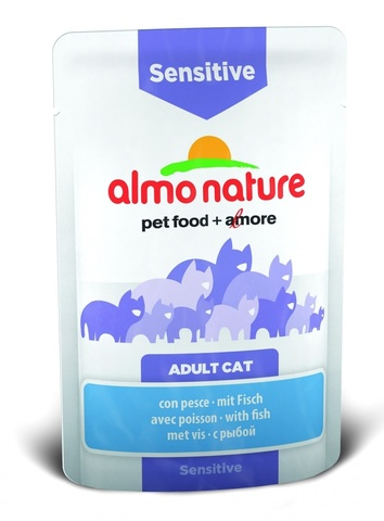 Паучи Almo Nature Functional - Sensitive with Fish