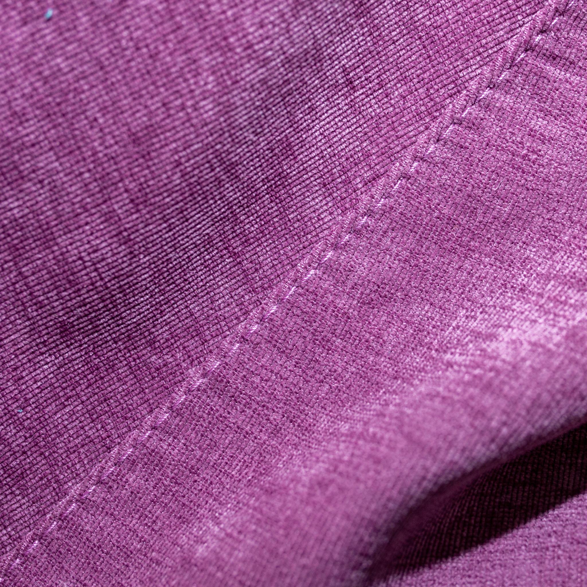 Кролик M тканевый (бордово-фиолетовый)