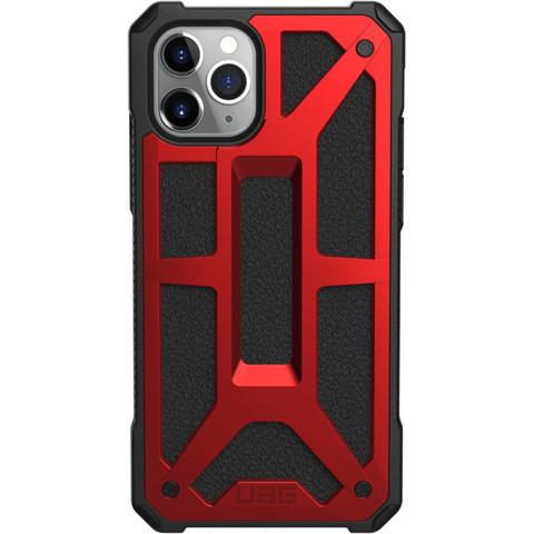 Чехол Uag Monarch для iPhone 11 Pro MAX красный (Crimson)