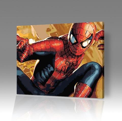 Картина по номерам на холсте Spider-Man, 40см*50см