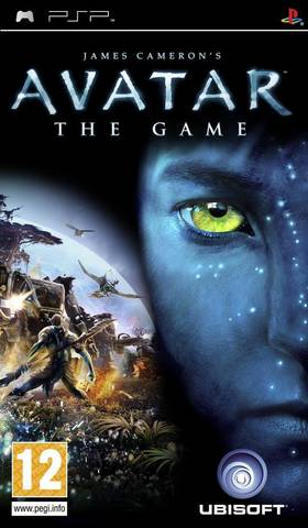 Avatar The Game (PSP, русская версия, б/у)