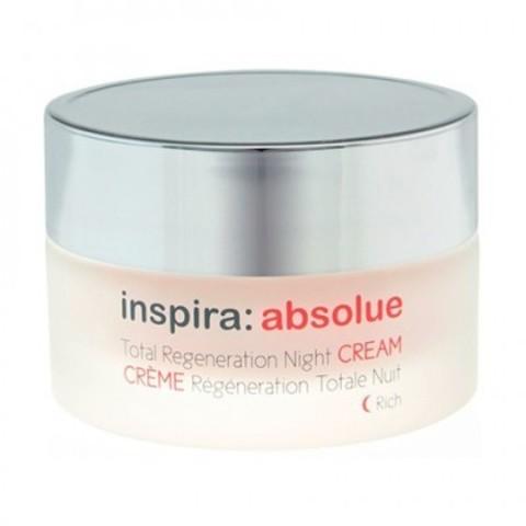 INSPIRA Absolue: Обогащенный ночной регенерирующий лифтинг-крем для лица (Total Regeneration Night Cream Rich), 50мл