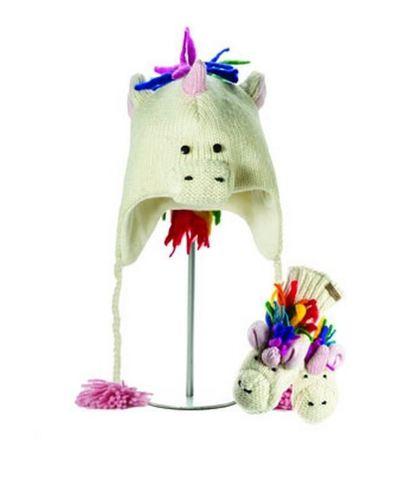 Картинка шапка с ушами Knitwits Ummi the Unicorn  - 1