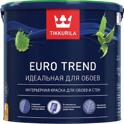 Tikkurila Euro Trend / Тиккурила Евро Тренд идеальная краска для обоев и стен