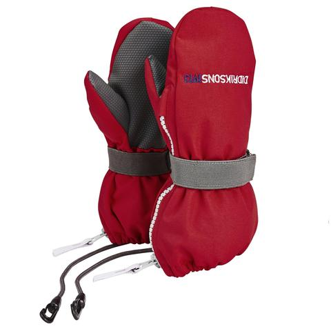 Варежки детские Didriksons Biggles zip - Red (красный)
