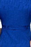Платье для беременных 07986 синий
