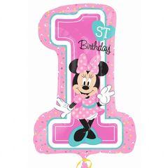Цифра Минни 1й День рождения
