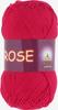 Пряжа Vita Rose 3917 (Красный мак)