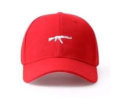 Кепка с калашом красная (Бейсболка с калашом красная)
