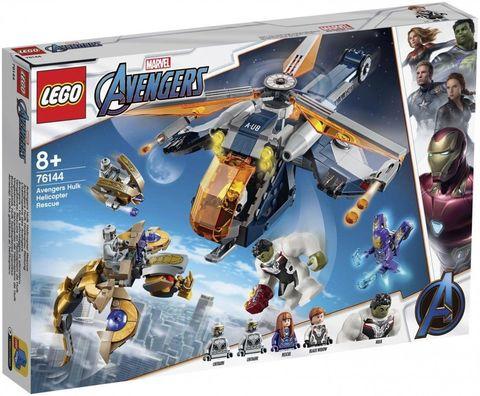 LEGO Super Heroes: Халк: прыжок из вертолёта 76144 — Hulk Helicopter Drop — Лего Супергерои Марвел