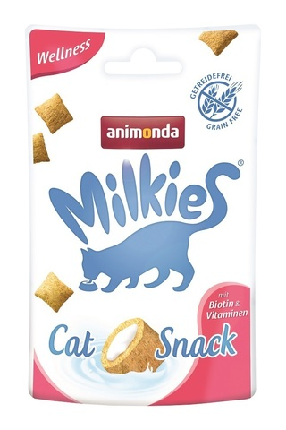 Animonda Milkies Crunchy Pillows Cat - Wellness