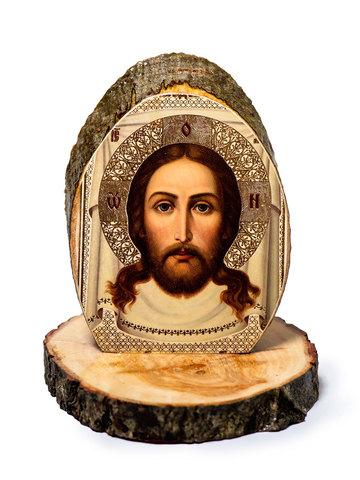 Настольная икона Спас Нерукотворный - Фото 1