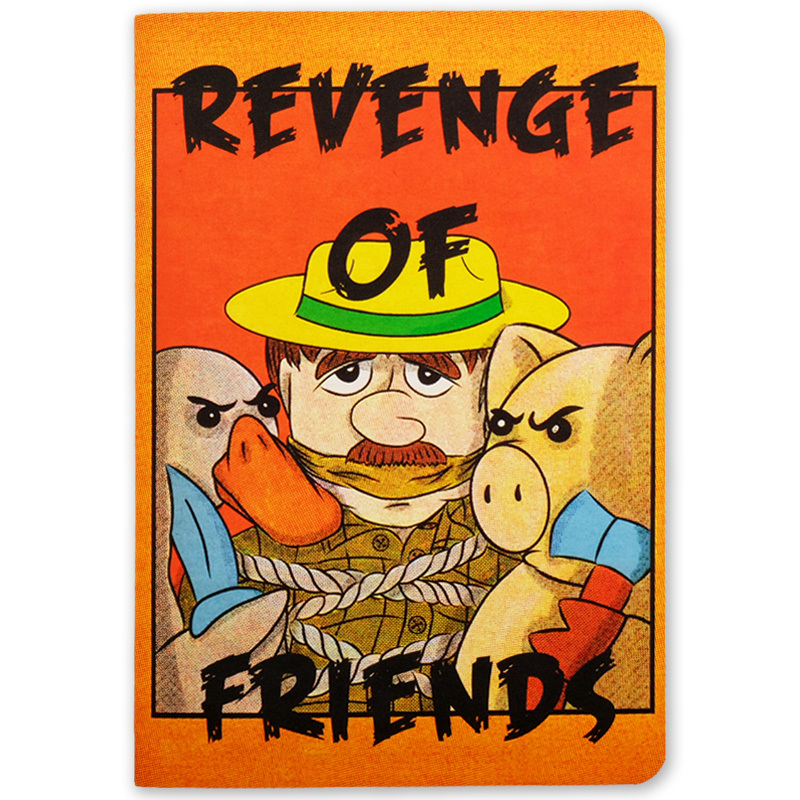 Revenge of friends / Блокнот А5
