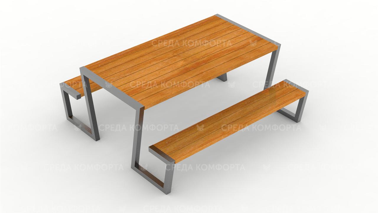 Лавка со столом SCAM0256