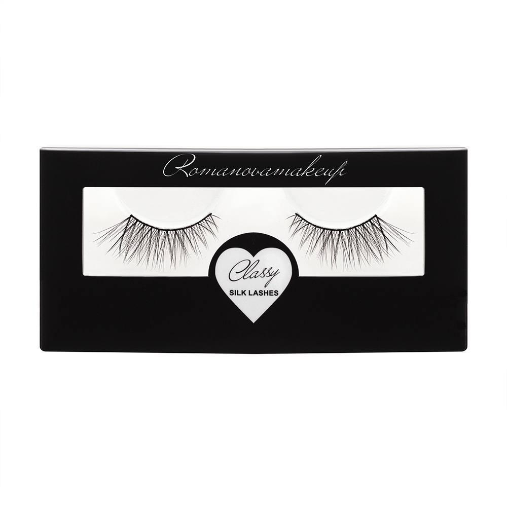 Ресницы ленточные Romanovamakeup Classy Silk Lashes ANN