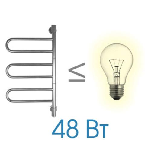 Полотенцесушитель электрический Energy U G3K 770x400