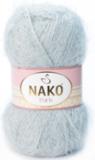 Пряжа Nako Paris 10914 серый лед