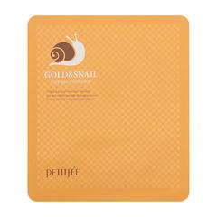 Гидрогелевая маска для лица Petitfee Gold & Snail Hydrogel Mask Pack