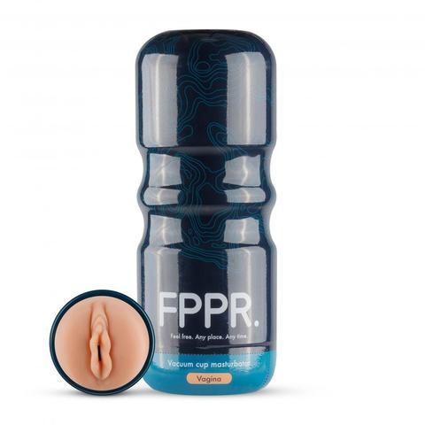 Кофейный мастурбатор-вагина FPPR. Vagina