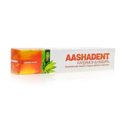 Зубная паста Кардамон-Имбирь, 100 мл Aasha