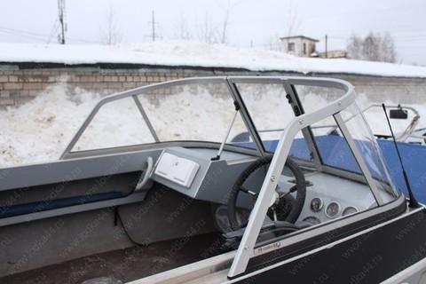 Ветровое стекло на лодку «Волжанка-47 (Фиш) 2015 г.в.»