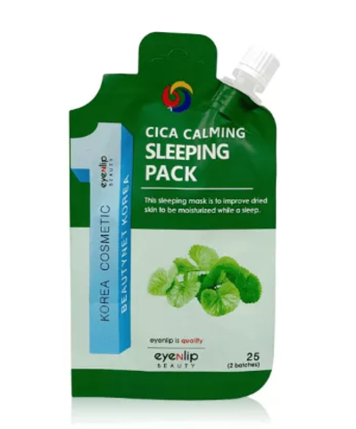 Ночная маска для лица с центеллой азиатской  Eyenlip Cica Calming Sleeping Pack