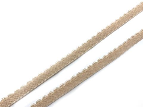 Резинка отделочная бежевая 8 мм (цв. 126)
