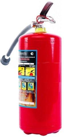 Огнетушитель воздушно-эмульсионный ОВЭ-6 (з)-АВСЕ-02 морозостойкие