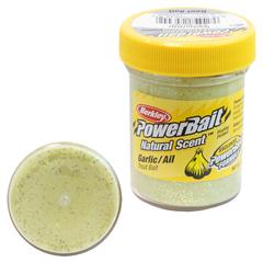 Паста Berkley PowerBait Natural Scent Trout Bait (Чеснок/блестки)