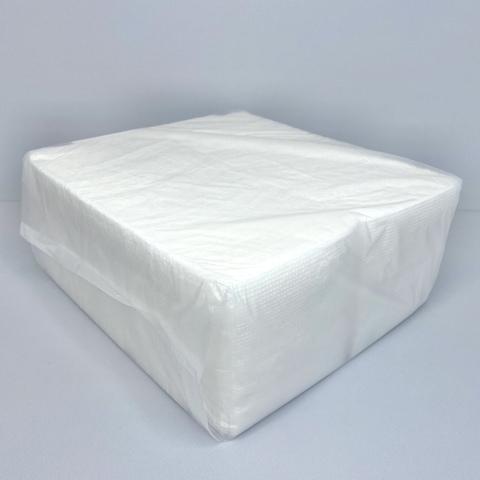 Салфетки 24х24 см 1сл. барные эконом (300 шт.) белые