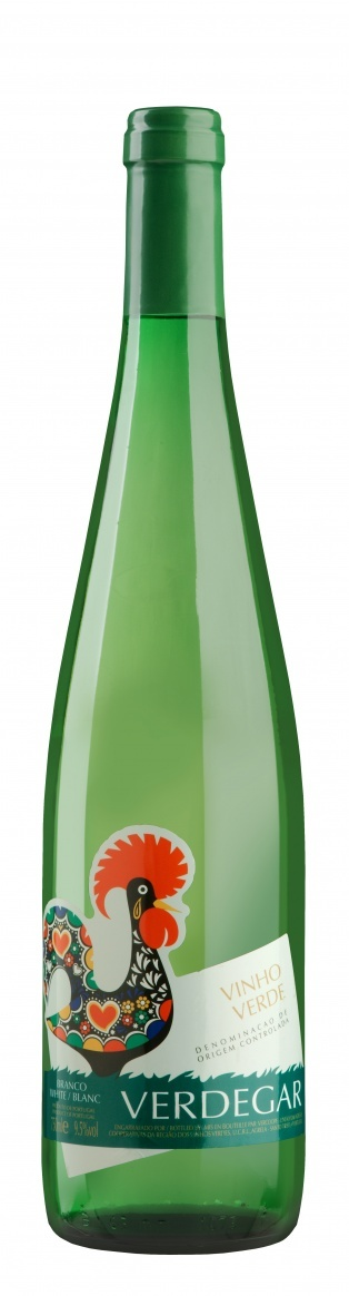Вино Вердегар белое полусухое защищ.наимен.места происх.рег.Винье Верде кат.DOC 0,75л.