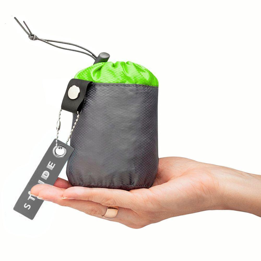 Wick Foldable Backpack, green