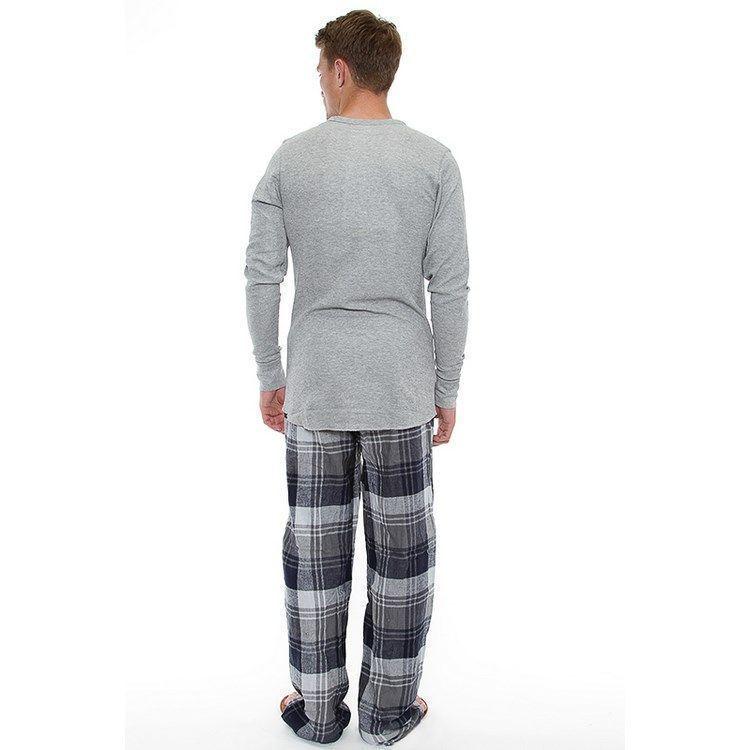 Мужской костюм домашний серый Bottoms Out EZ71181P