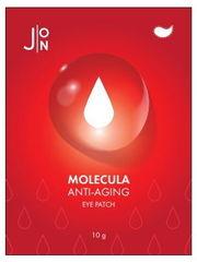 J:on Патчи тканевые для глаз антивозрастные - Molecula anti-aging eye patch, 12мл