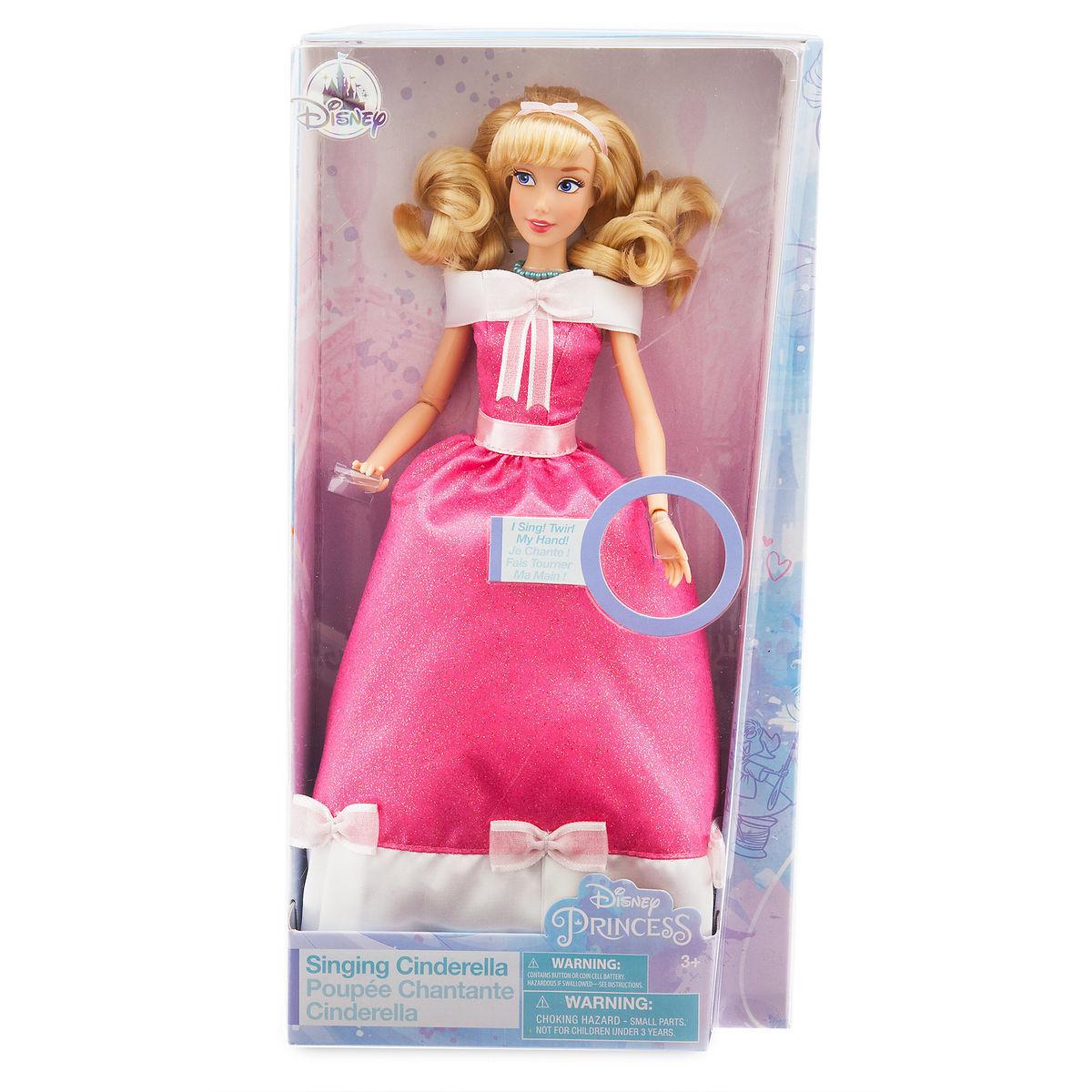 Музыкальная кукла Золушка Disney Classic