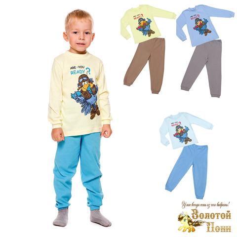 Пижама хлопок мальчику (92-134) 191210-A1963