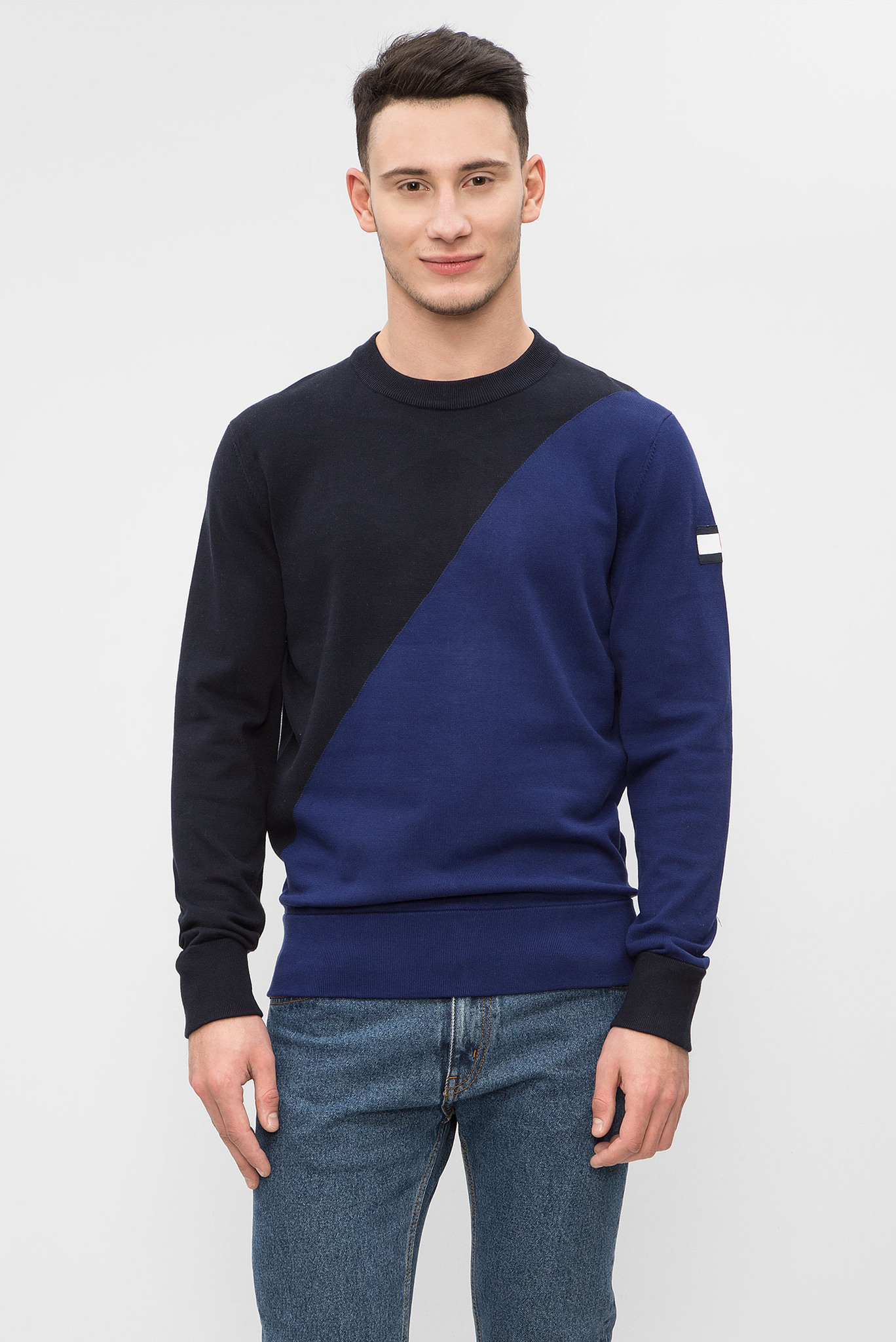 Мужской темно-синий джемпер Tommy Hilfiger