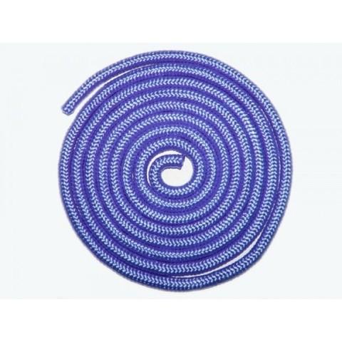 Скакалка гимнастическая, 3 метра голубая :(TS-01):