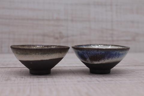 Чашка из исинской глины ручной работы, керамика,  30мл