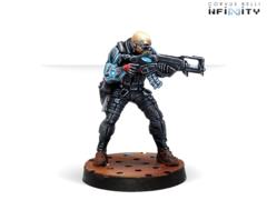 Grenzer (вооружен Combi Rifle + Light Flamethrower)