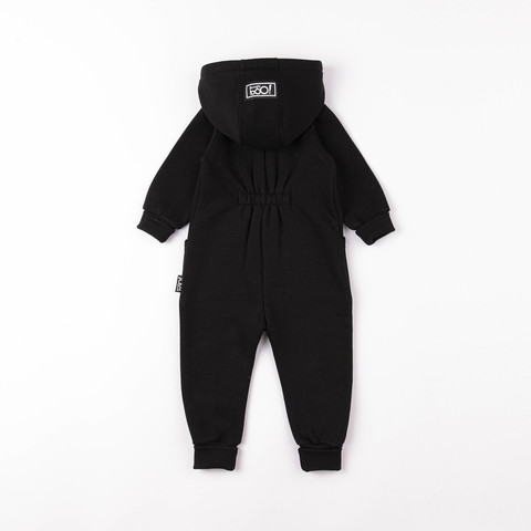Transformer jumpsuit without flap - Black