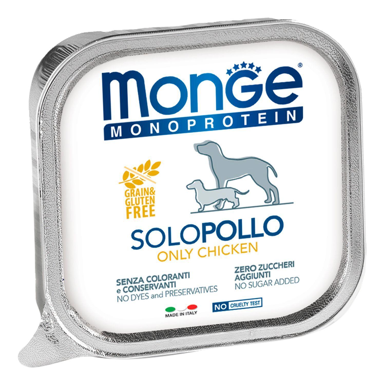 Monge Паштет для собак Monge Dog Monoproteico Solo курица 70014137_1.jpeg