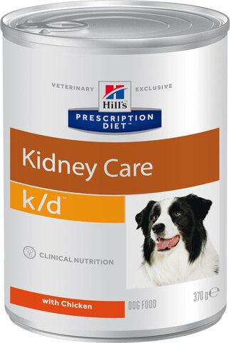 купить хиллс Hill's™ Prescription Diet™ Canine k/d™ Kidney Care консервы (влажный корм) для собак, диетический рацион при заболеваниях почек МКБ