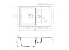 Схема Omoikiri Sakaime 78-2-EV