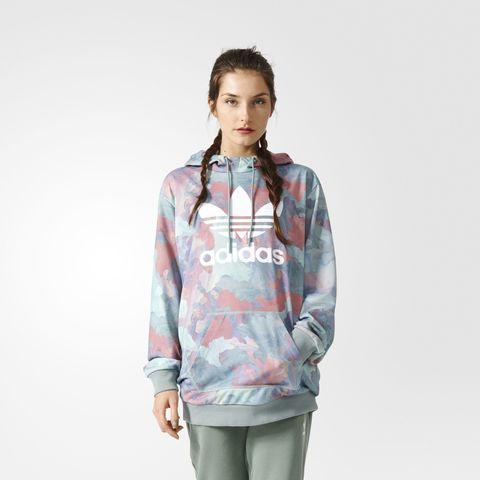 Джемпер женский adidas ORIGINALS PAST LONG HOODY