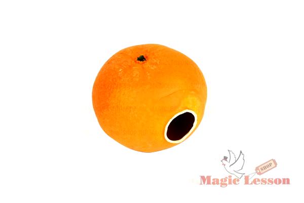 Резиновый мандарин для фокусов